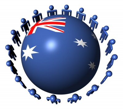 australia_sphere_globe_people_looking_at_sphere