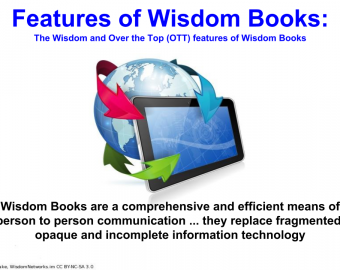 Wisdom Book features & Consumer value proposition